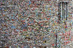Gum Wall Royalty Free Stock Images