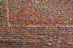 Gum Wall 04 Royalty Free Stock Images