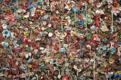 Gum Wall Pike Place Market Seattle, Washington Stock Photos