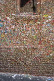 Gum Wall in Seattle Royalty Free Stock Photography