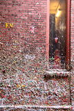 Gum Wall, Seattle, WA. Gum Wall Underground Tunnel at Pike Place Market, Seattle, WA Royalty Free Stock Image