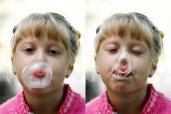 guma dziewczyny Obraz Royalty Free
