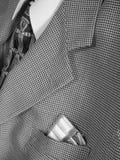 guma kieszeni garnitur obraz stock