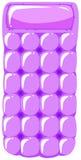 Guma pławik w purpura kolorze royalty ilustracja