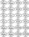 guma pieczętuje znaczki być ubranym Zdjęcia Stock