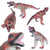 Guma zabawkarski dinosaur Obraz Stock