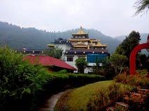 Gumba buddista Nepal immagine stock