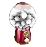 Gumball机器糖果分配器糖款待快餐空白拷贝温泉 库存图片