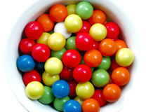 Gumball candies royalty free stock photos