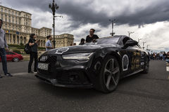 Gumball 3000 Dublin to Bucharest Charity Grid Rally - Bucharest Stock Photography