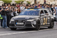 Gumball 3000 Dublin to Bucharest Charity Grid Rally - Bucharest Royalty Free Stock Images
