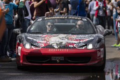 Gumball 3000 Dublin to Bucharest Charity Grid Rally - Bucharest Royalty Free Stock Photography
