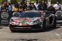 Gumball 3000 Dublin to Bucharest Charity Grid Rally - Bucharest Royalty Free Stock Photos
