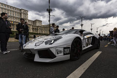Gumball 3000 Dublin to Bucharest Charity Grid Rally - Bucharest Stock Photo