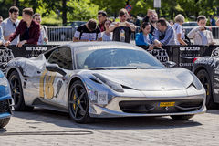 Gumball 3000 Dublin to Bucharest Charity Grid Rally - Bucharest Stock Image