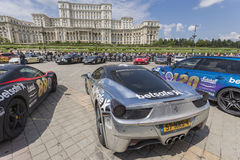 Gumball 3000 Dublin to Bucharest Charity Grid Rally - Bucharest Stock Photos
