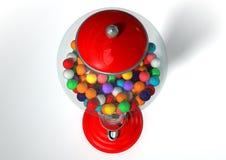 Gumball fördelande maskin royaltyfri bild