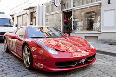 Gumball Ferrari 458 Photos stock