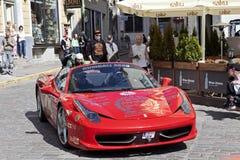 Gumball Ferrari 458 Obraz Stock