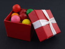 Gumball Gift Royalty Free Stock Image