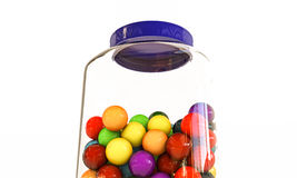 Gumball jar Royalty Free Stock Photography