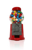 Gumball Machine. Over white with reflection Stock Photo