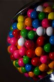Gumball Machine. Gum-ball machine filled with gum-balls Royalty Free Stock Image