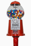 Gumball Machine. Isolated on white, includes clipping path Stock Photography