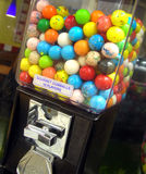 Gumball Machine. A gumball machine filled up with tons of gum balls Stock Photography