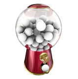Gumball Machine Candy Dispenser Sugar Treat Snack Blank Copy Spa Stock Images