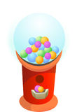 Gumball Machine Chewing Gum Royalty Free Stock Images