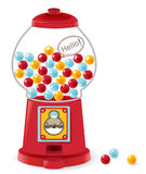 Gumball Machine. Vector File EPS10 Stock Photos