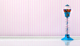Gumball-Maschine in einem Süßwarenladen Lizenzfreie Stockfotografie