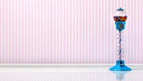 Gumball maskin i ett godislager Royaltyfri Fotografi