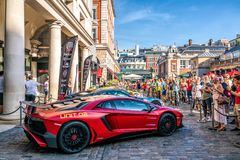 Gumball 3000 Rally Event in London Royalty Free Stock Photography