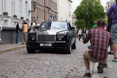 Gumball 3000 Rolls Royce Royalty Free Stock Images