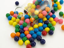 Gumball Spill Royalty Free Stock Image