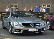 Gumball 3000 starts in copenhagen denmark Royalty Free Stock Image