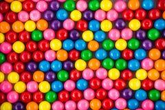 Gumballs coloridos Imágenes de archivo libres de regalías