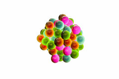Gumballs. 3d illustration of gamballs isolated on white background Royalty Free Stock Image