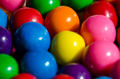 Gumballs. Image of many colorful gumballs stock photo