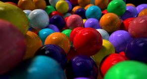 Gumballs Up Close And Personal Royalty Free Stock Photos