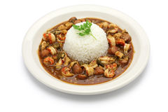 Gumbo with crawfish, chicken & sausage