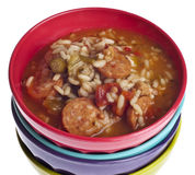 Gumbo with Okra Royalty Free Stock Images
