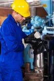 gumboot заводской рабочий Стоковые Фотографии RF