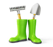 Gumboots Stock Photos