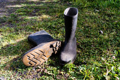 Gumboots Royalty Free Stock Photography