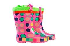 Gumboots para crianças Fotografia de Stock Royalty Free