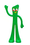 gumby rubber toy Royaltyfri Foto