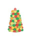 Gumdrop-Baum Lizenzfreie Stockbilder
